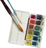 small painting tools
